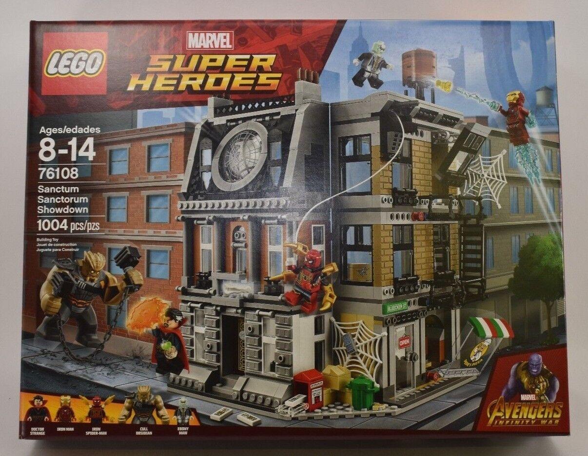 LEGO 76108 MARVEL SUPER HEROES SANCTUM SANCTORUM SHOWDOWN NEW COMPLETE