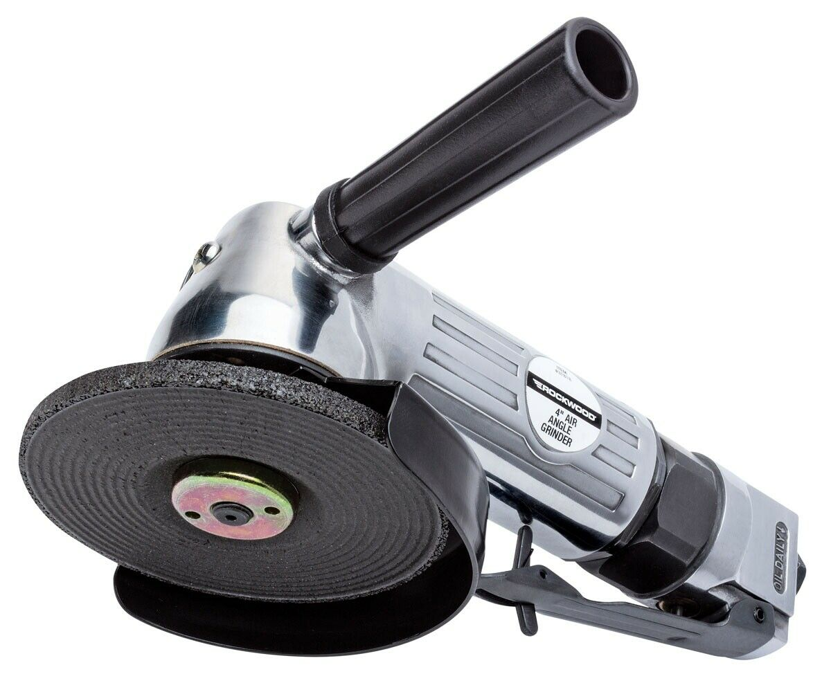 Rockwood 4 inch Air Angle Grinder Cut Off Pneumatic Polisher 10 000 RPM. Buy it now for 42.99