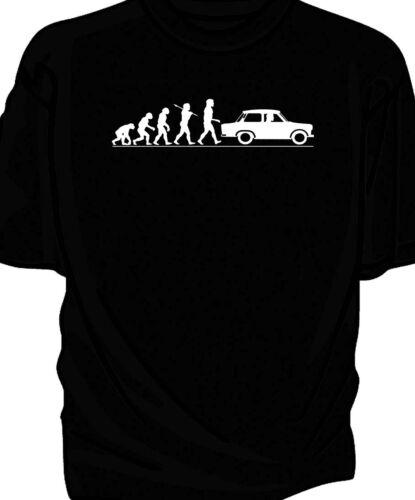 Trabant /'Evolution of Man/' classic car t-shirt