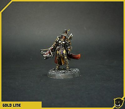 Warhammer 40k-triumvirate of the Imperium-Inquisitor Greyfax (pro painted)