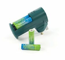 Hähnel Novo Synergy AA/AAA Battery Charger and 4 AA Batteries UK Stock