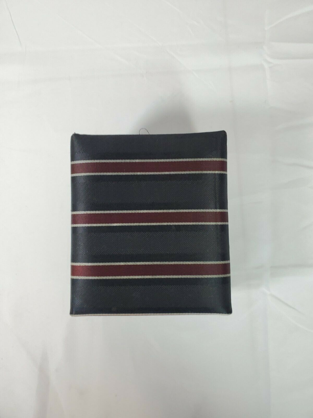A. Santoni Collection Tie with Pocket Hankie, Cuff Links In Box