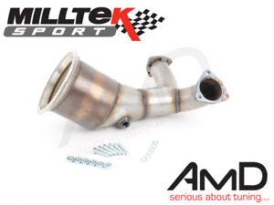 Details about Milltek Audi S5 B9 DeCat fits OE and Milltek Exhaust De Cat  Pipe Cat Replacement