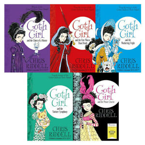 Chris-Riddell-Goth-Girl-amp-Fete-Worse-Than-Death-5-Books-Collection-Set-Brand-New