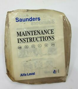 Alfa laval Diaphragm Grade 226 Saunders A 2 `` -50mm 923.31.005 / 703.211.00.005
