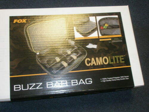 Fox Camolite Buzz Bar Bag Carp fishing tackle