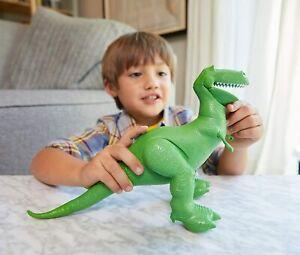 "Disney Pixar Toy Story 4 True Talkers Rex Figure 7.8"" Talking Toy 15+ Phrases"