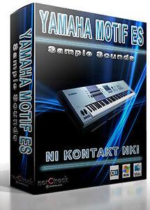 Yamaha Motif Xf S Kontakt Download