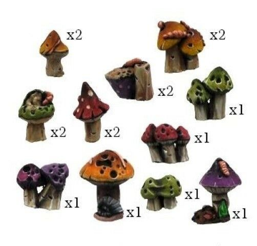 Kromlech BNIB Goblins Night Orcs - Mushrooms (16)