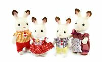 Calico Critters Hopscotch Rabbit Family , New, Free Shipping on sale