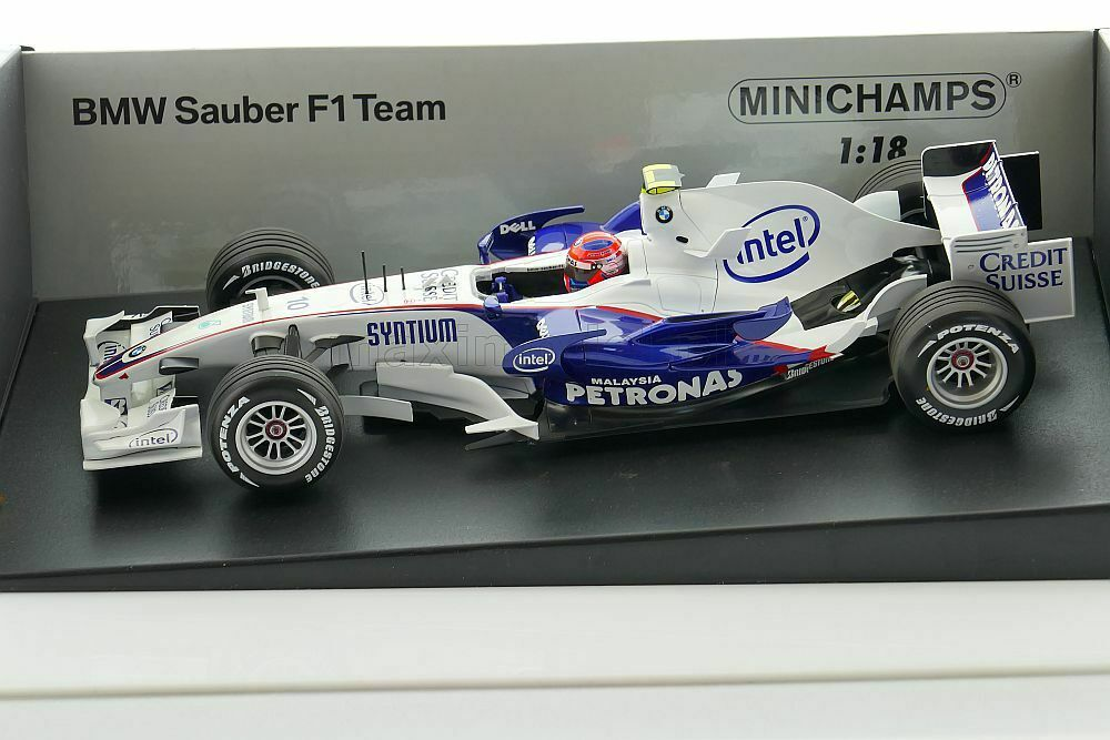 F1 BMW f1.08 Kubica 2007 1 18 Minichamps 100070010