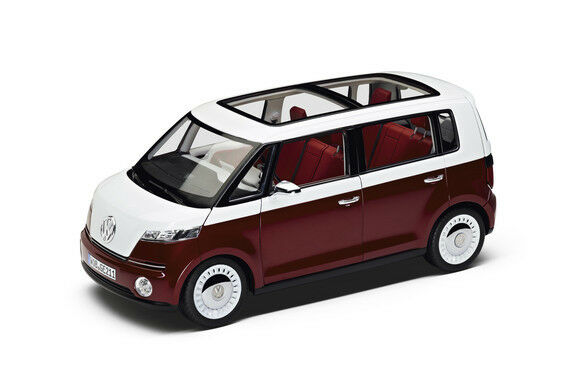 Original Volkswagen Model Car Study   the New Bulli   1 18 Red 7e9099302 BL9