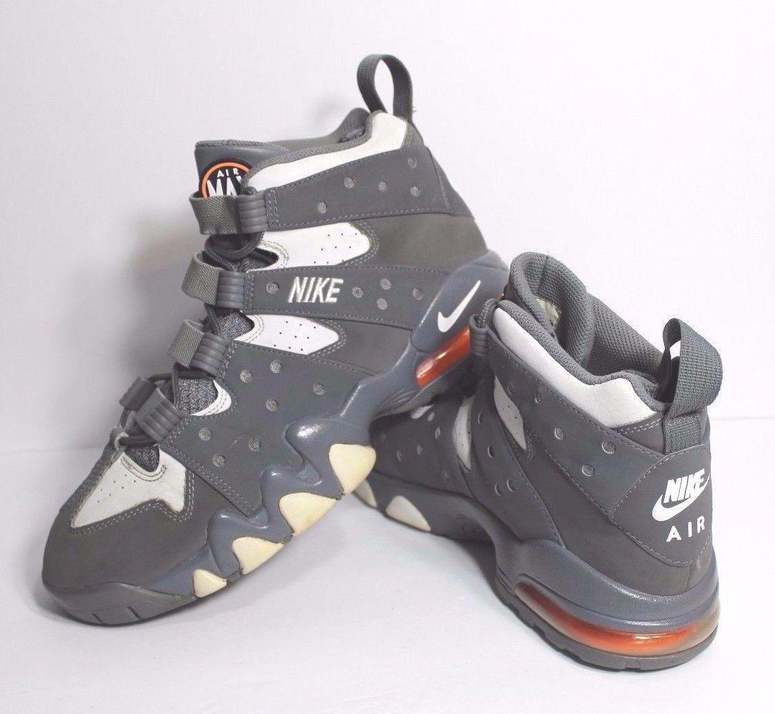 Nike air max2 bc scarpe '94 numero 43 di scarpe bc clay grigio / bianco arancio 305440-005 19a77e