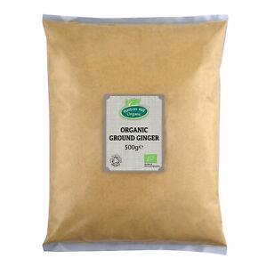 Organic Ginger Powder 500g Certified Organic