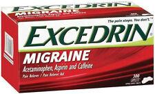Excedrin MIGRAINE 300 ct Caplets NIB