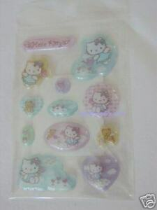 New-Sanrio-SKY-Hello-Kitty-Sticker-12-PCS-3D-QQ