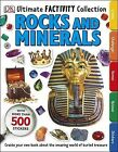 Ultimate Factivity Collection Rocks and Minerals by DK (Paperback, 2014)