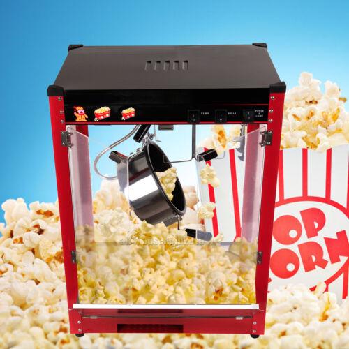 Profi Elektro Popcornautomat Popcornmaschine Popcorn Maker 8.OZ 1370W Xmas