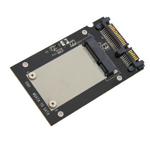 "1.8/"" Micro SATA SSD HDD to 2.5/"" SATA Adapter Converter Card with 7mm Thick New"