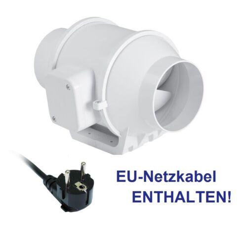 cavo di alimentazione-UE GARANZIA 2 fasi WESTOE ventola del tubo ventola 100 mm