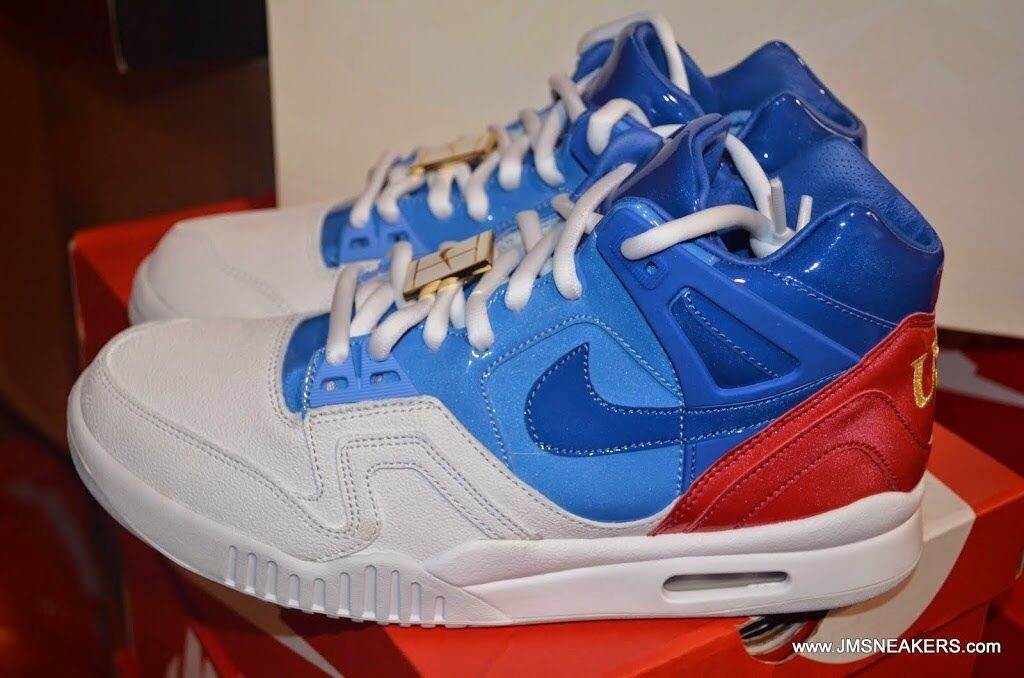 Nike air tech tech tech challenge 2 ii sp us open rot - weiß / blau 621358 133 air max 95 7,5 5d1199
