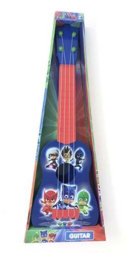 Máscaras de mi primer Juguete Guitarra PJ para niños 3 owlette Gekko Gato Chico Hti con licencia