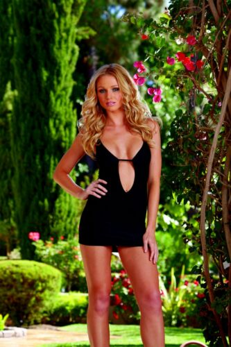 Dreamgirl Keyhole Mini Dress