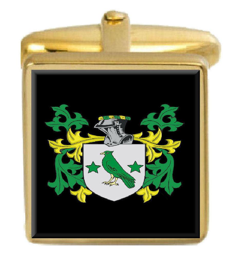 Fothringham Scozzese Famiglia Stemma Stemma oro Gemelli Gemelli Gemelli Incisione Scatola dcd3e5