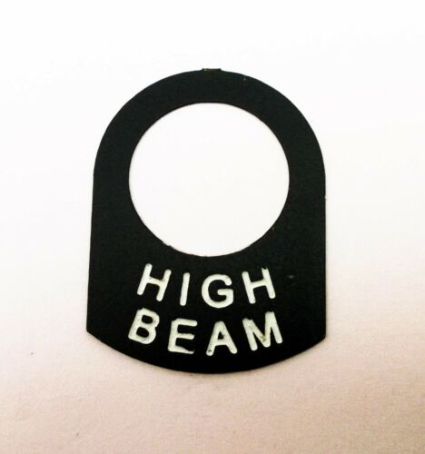HIGH BEAM Land Rover Classic race rally car IVA lucas switch tag