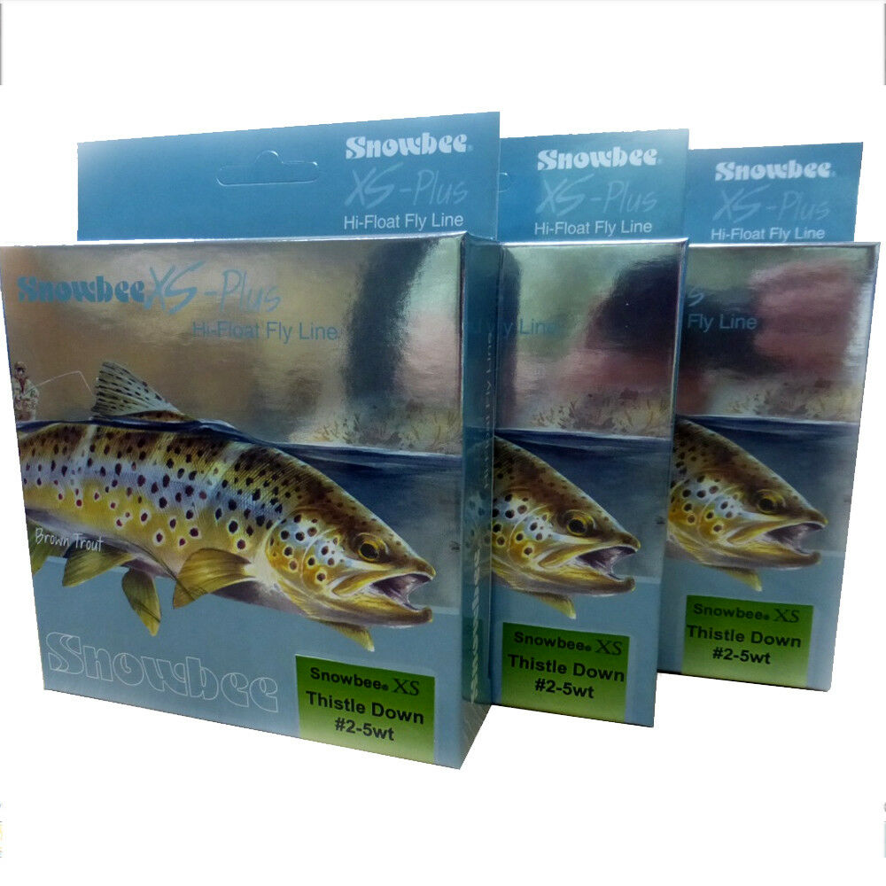 Snowbee XS Plus Thistledown Fly Line - Floating WF2-5