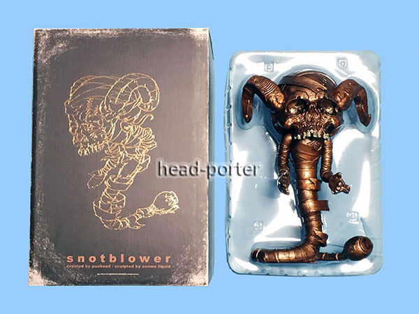 MEDICOM TOY by Sync PUSHEAD snotblower Copper Ver (Brian Schroede) FIGURE