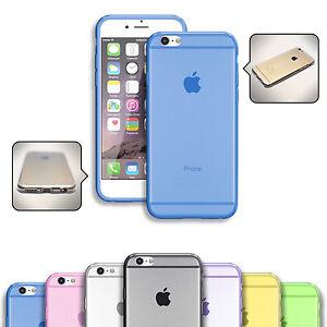 Custodia-in-Silicone-Trasparente-per-Apple-iPhone-Slim-Case-Cover