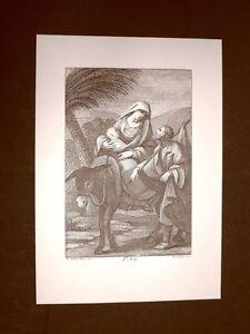 Litografia-Natale-La-fuga-in-Egitto-San-Bonaventura-del-1794-Ristampa