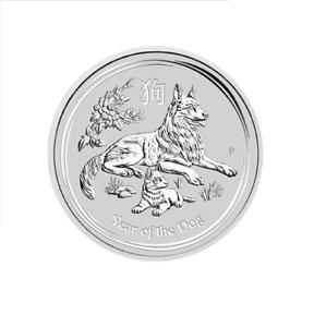 2018-Australia-Lunar-YEAR-OF-THE-DOG-1oz-Silver-Brilliant-Unc-Coin-Perth-Mint