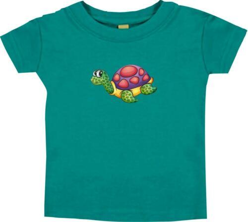 Kinder T-Shirt mit tollen Motiven Schildkröte