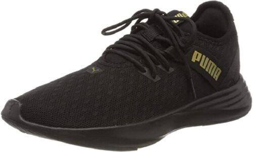 Gr Schwarz Gold 37,5-41 Damen Sportschuhe Sneaker Puma Radiate XT Pattern