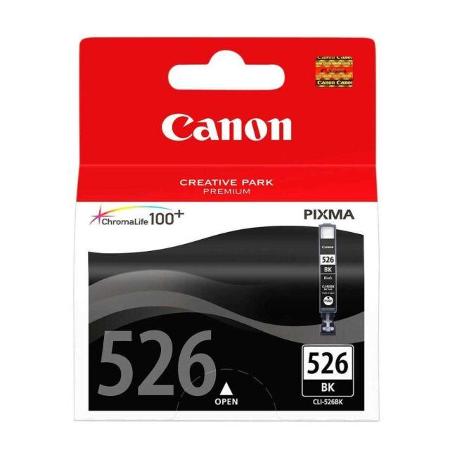 Canon Original Ink CLI526BK CLI-526BK Black For MG6150 MG6250 MG8150 MG8250