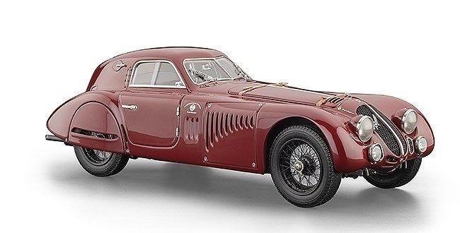 1 18 CMC 1938 Alfa Romeo 8C 2900B Touring Coupe M-107 especial