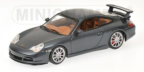 Porsche 911 Gt3 2003 gris Metallic 1 43 Model MINICHAMPS