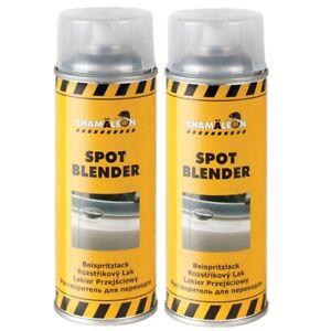 Chamaeleon-1K-Beispritzlack-2-x-400ml-Spray-Spot-Blender-Lack-Repair-Verduennung
