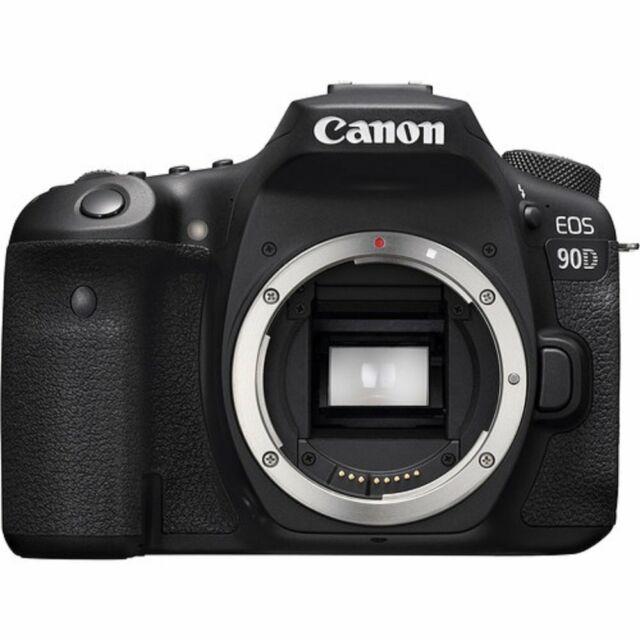 Canon EOS 90D Camera Body (Cuerpo solo) - Negro