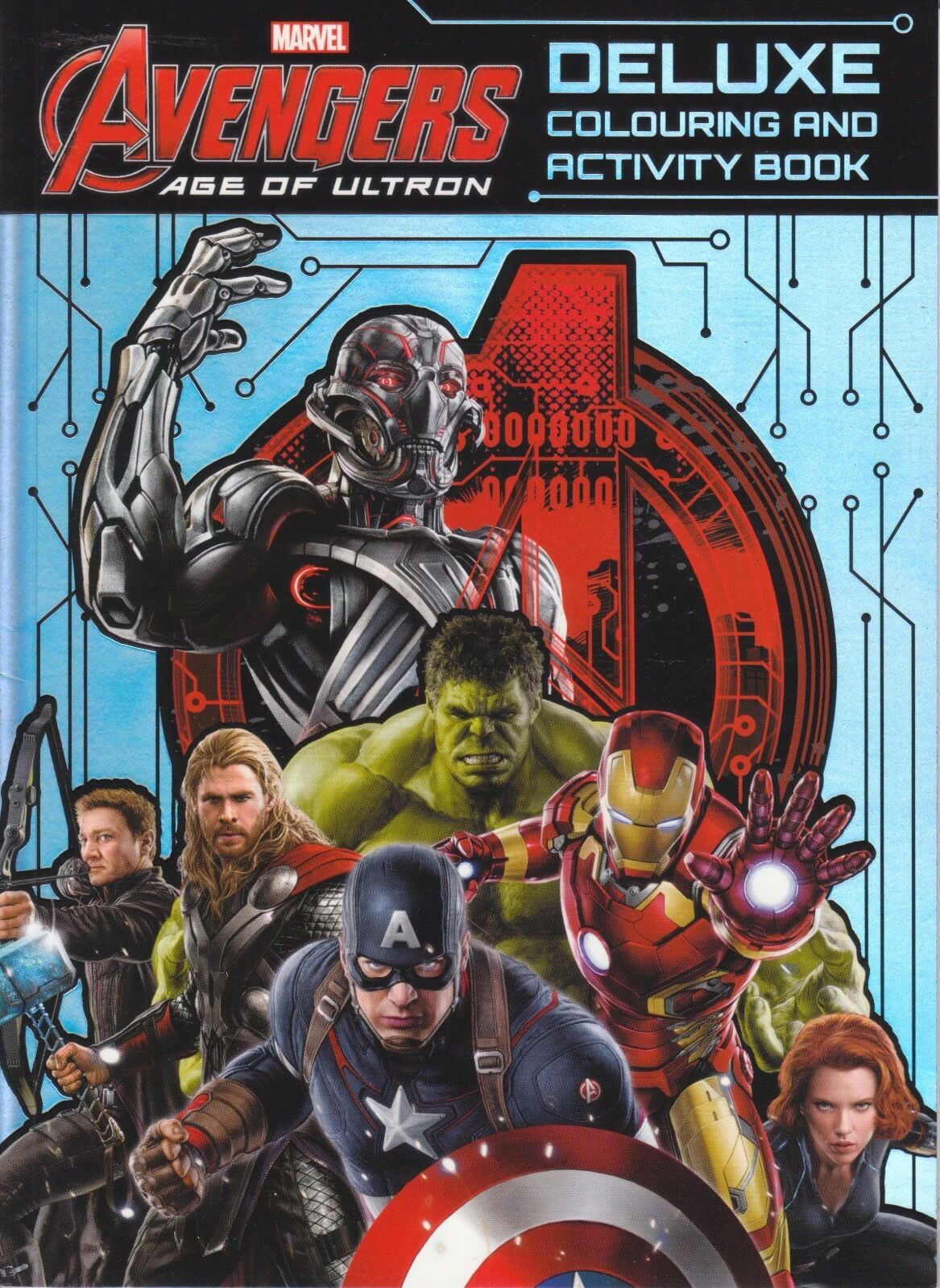 Marvel Avengers Age of Ultron - Deluxe Colouring and Activity Book ...