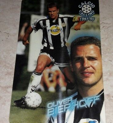 Card CALCIO CALLING Panini 1997//98 AMOROSO UDINESE