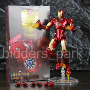 ZD-TOYS-Birth-of-Iron-Man-MK-3-Mark-III-7-Action-Figure-Marvel-MCU-IN-STOCK