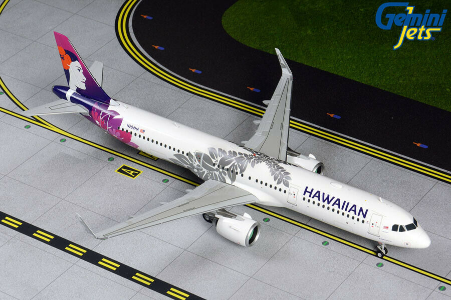 Hawaiian Airlines A321neo N204HA Gemini Jets G2HAL809 Scale 1 200 IN STOCK