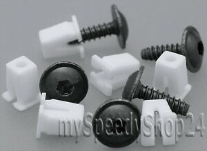 20x-Torx-TX25-Schrauben-Spreizmutter-Radhausschale-Radkasten-Clips-Universal