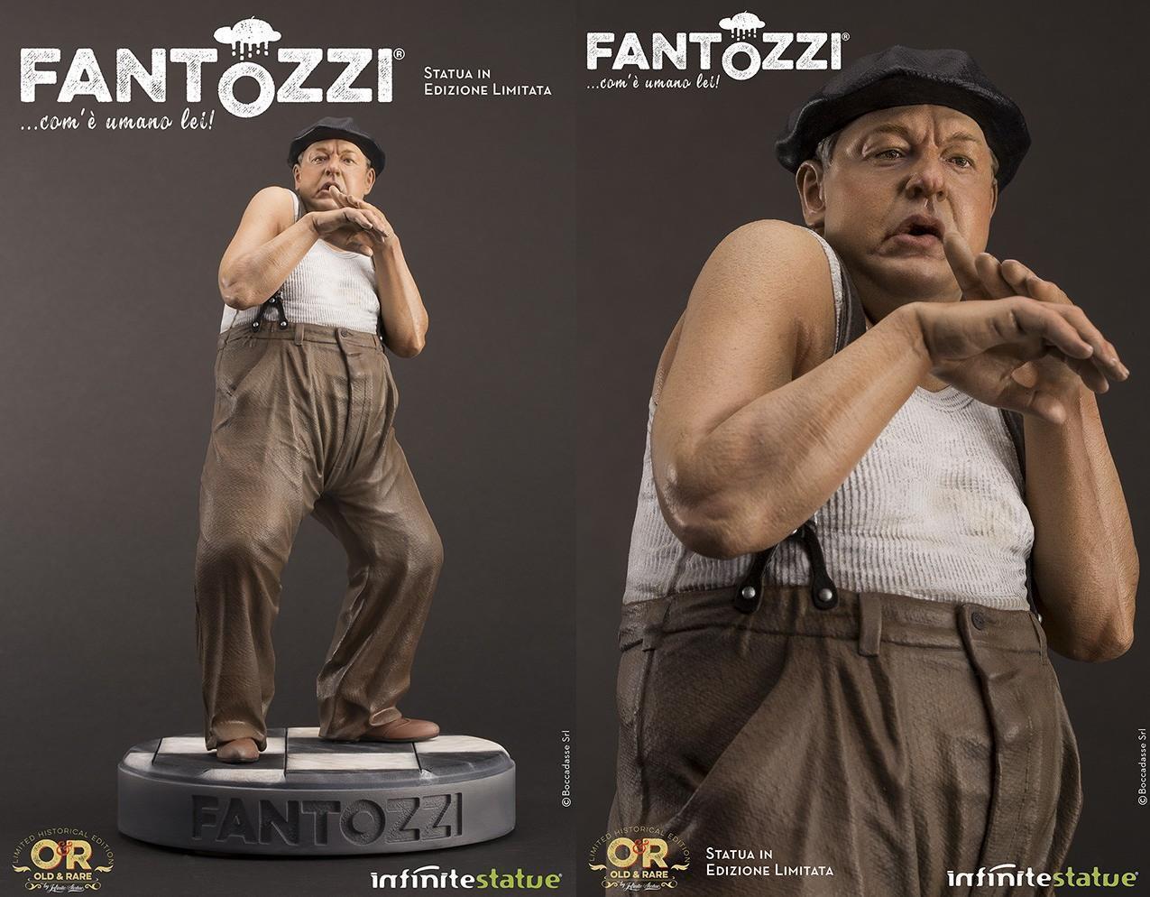 INFINITE - Fantozzi Paolo Villaggio Old & Rare statua [=-