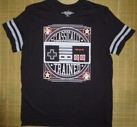 Nintendo Console Size 2xl Black Classically Trained Print Tshirt Retro Game