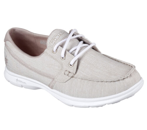 Go da Sneakers Boat Step Lace Grey Skechers ginnastica Up Shoes New Scarpe Women qURBB