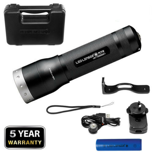 LED Lenser coast M7R Rechargeable Torch Flashlight 400LM  in hard case